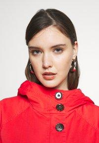 Calvin Klein - MID THIGH - Parka - orange odyssey - 4