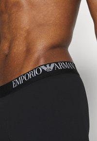 Emporio Armani - TRUNK 3 PACK - Boxerky - black/white/black - 3
