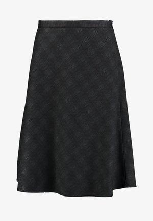 SUBTLE PRINTED - A-line skjørt - black