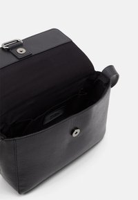 Zign - LEATHER - Across body bag - black - 2
