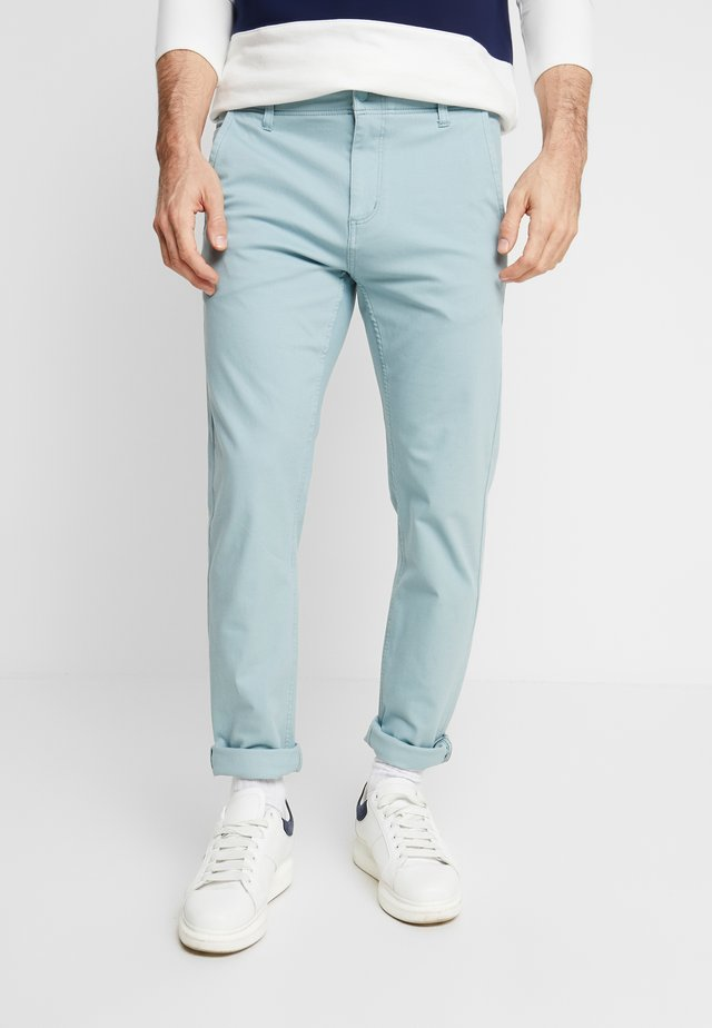 SMART FLEX ALPHA LIGHTWEIGHT TEXTURED - Chinos - stone blue