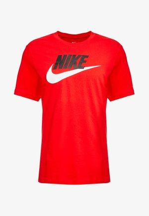 TEE ICON FUTURA - T-shirt med print - university red/black/white