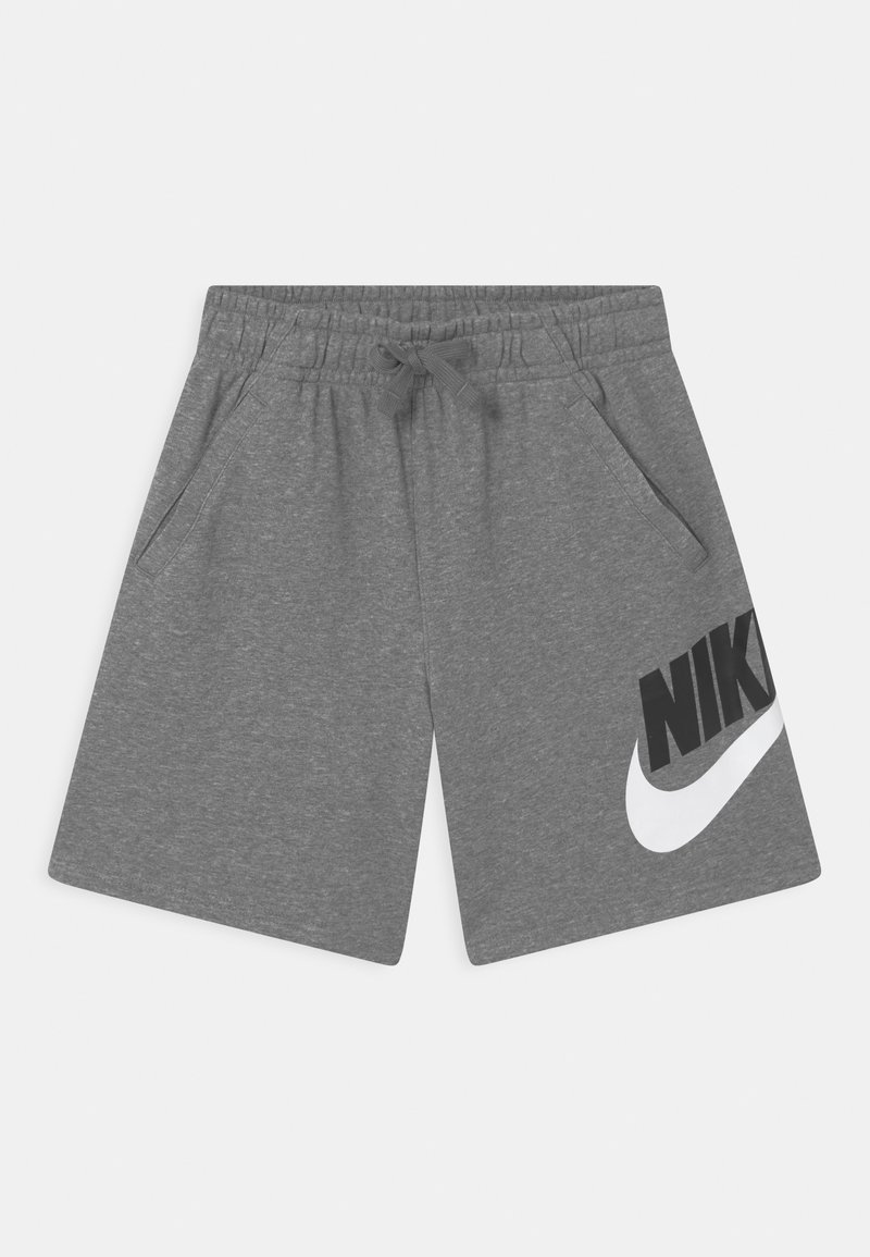 Nike Sportswear - PLUS CLUB - Tracksuit bottoms - carbon heather/smoke grey