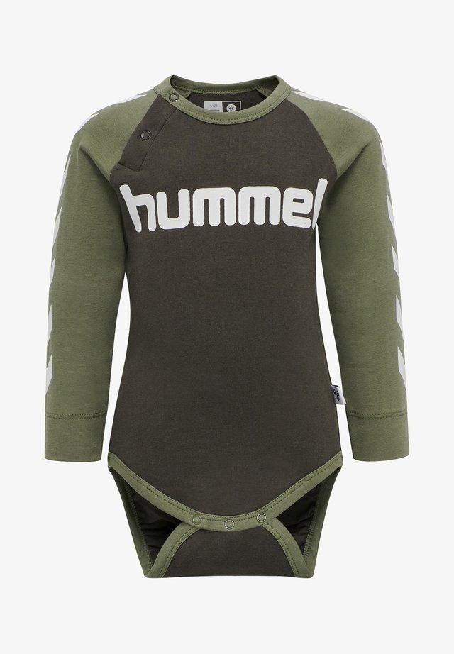 Body / Bodystockings - deep lichen green