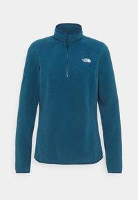 GLACIER ZIP MONTEREY - Fleece jumper - monterey blue