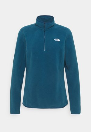 GLACIER 1/4 ZIP MONTEREY - Fleece jumper - monterey blue