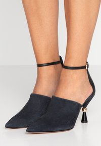 MAX&Co. - ACUTI - High Heel Sandalette - navy blue - 0