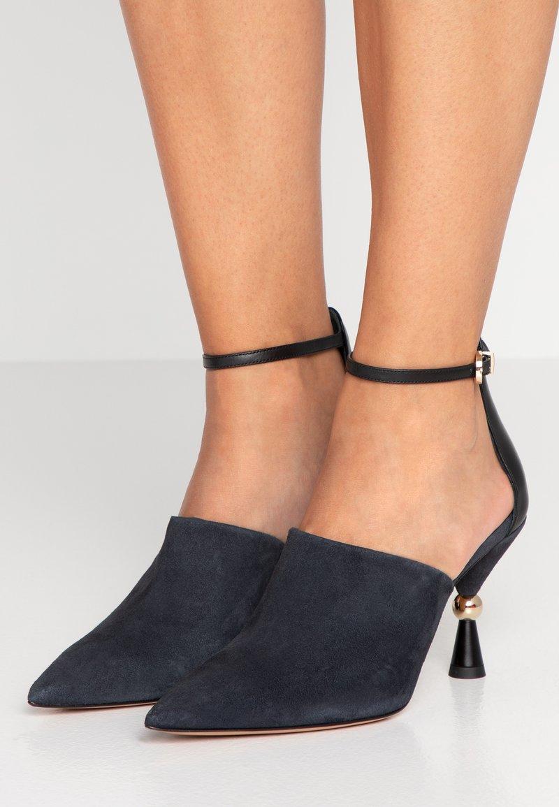 MAX&Co. - ACUTI - High Heel Sandalette - navy blue