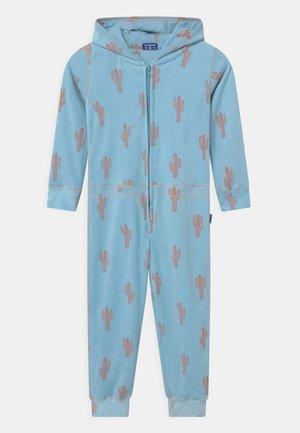 BOYS ONESIE CACTUS - Pyžamo - light blue