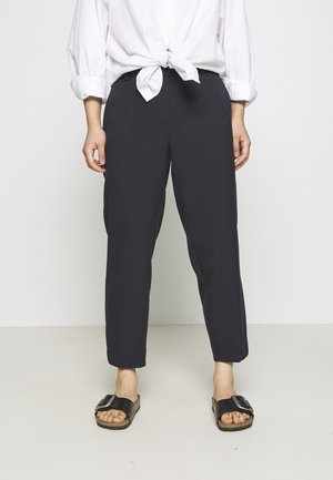 SLFRIA CROPPED PANT - Trousers - dark sapphire