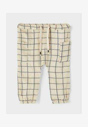 Cargo trousers - oatmeal