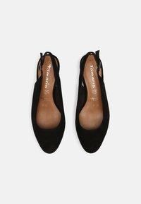 Tamaris - Wedge sandals - black - 4