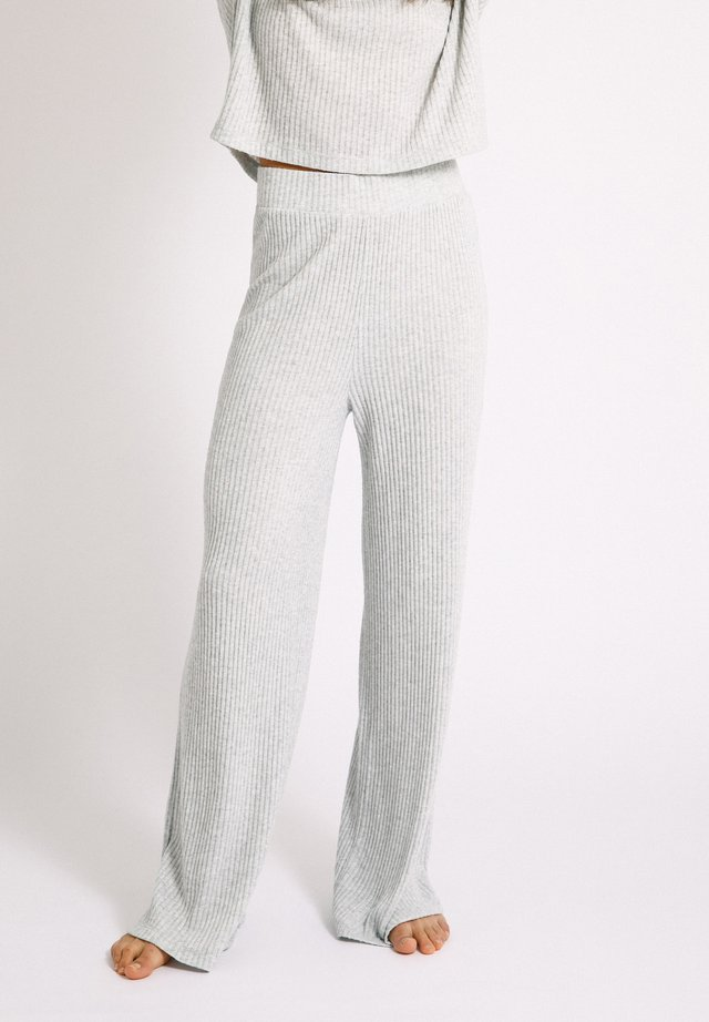 Tygbyxor - light grey