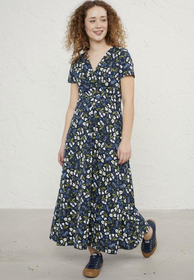 Długa sukienka - dark blue