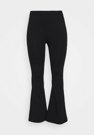 VMKAMMA FLARED PANT - Trousers - black