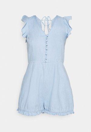 BACKLESS - Jumpsuit - blue