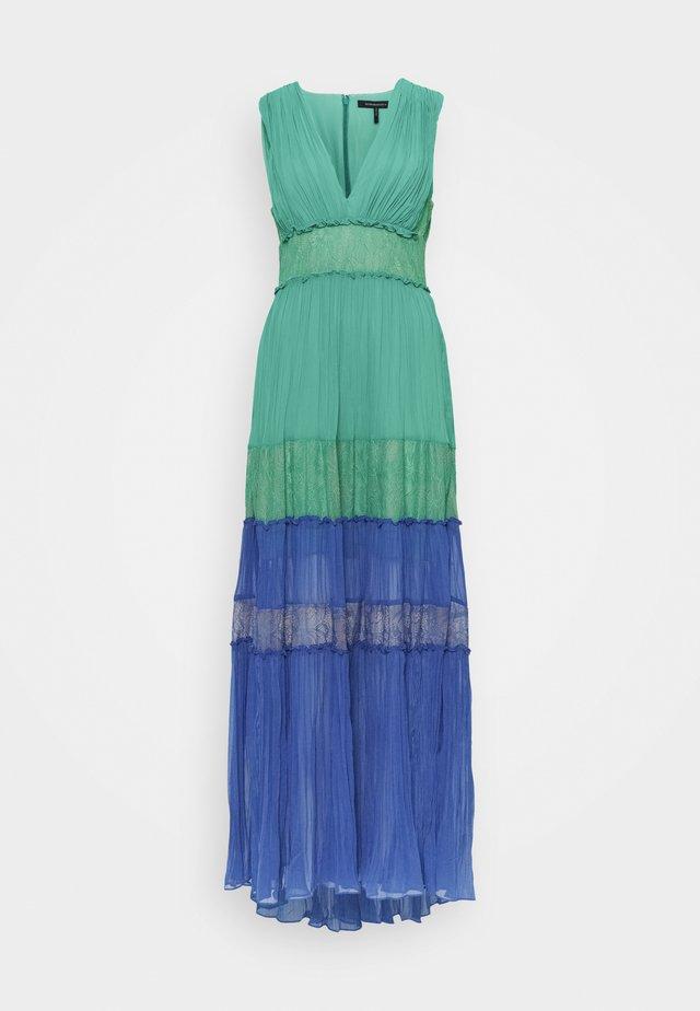 COLOR BLOCK DRESS - Ballkjole - larkspur blue combo