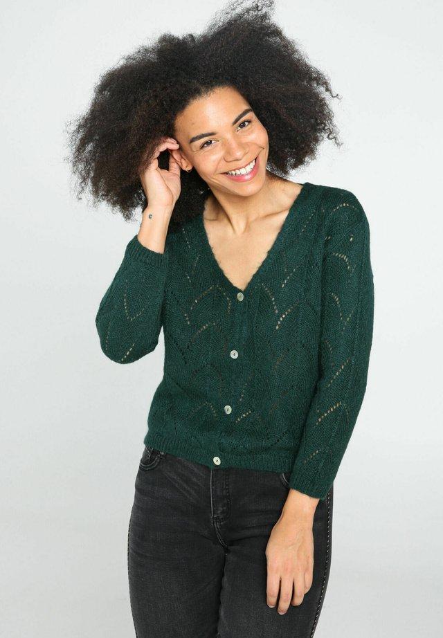 Vest - emerald
