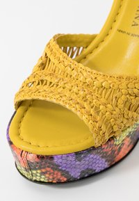 Pons Quintana - High heeled sandals - yellow - 2