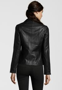 7eleven - TERRY - Leather jacket - black - 2