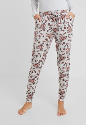 PANT BLOSSOM - Pyjama bottoms - light grey melee