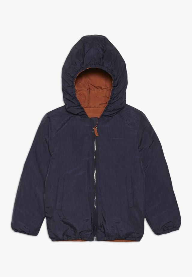SNOW JACKET BABY  - Down jacket - sudan brown/moonlight