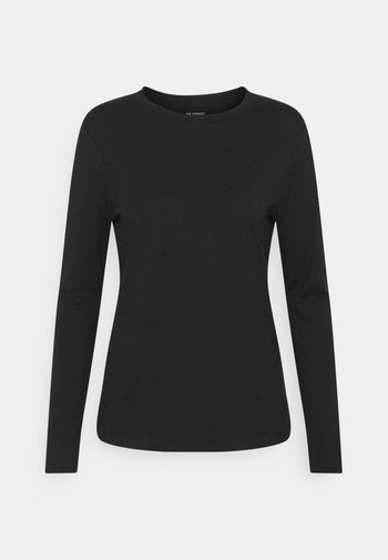 STRAIGHT CREW - Camiseta de manga larga - black