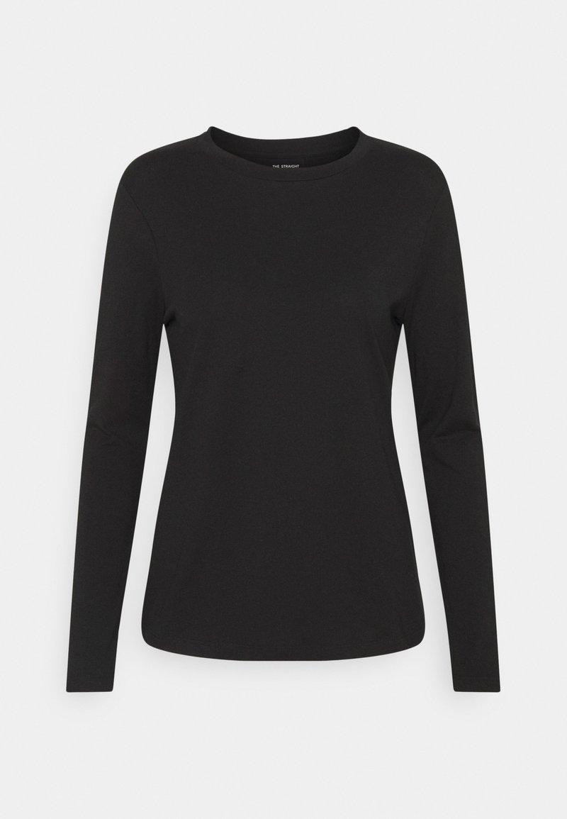 Marks & Spencer London - STRAIGHT CREW - Long sleeved top - black