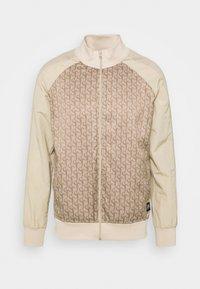 Sixth June - MONOGRAM TRACK JACKET - Training jacket - beige - 4