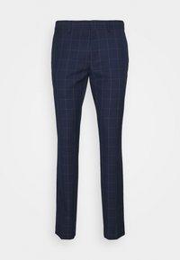 Isaac Dewhirst - THE FASHION SUIT PEAK WINDOW CHECK - Suit - dark blue - 15