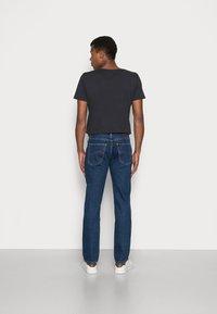 Lee - BROOKLYN STRAIGHT - Straight leg jeans - dark stone - 2