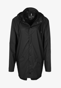 Rains - UNISEX JACKET - Impermeable - black - 0