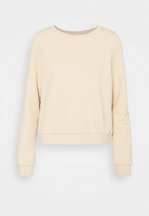 ONLWENDY ONECK - Sweatshirt - toasted almond