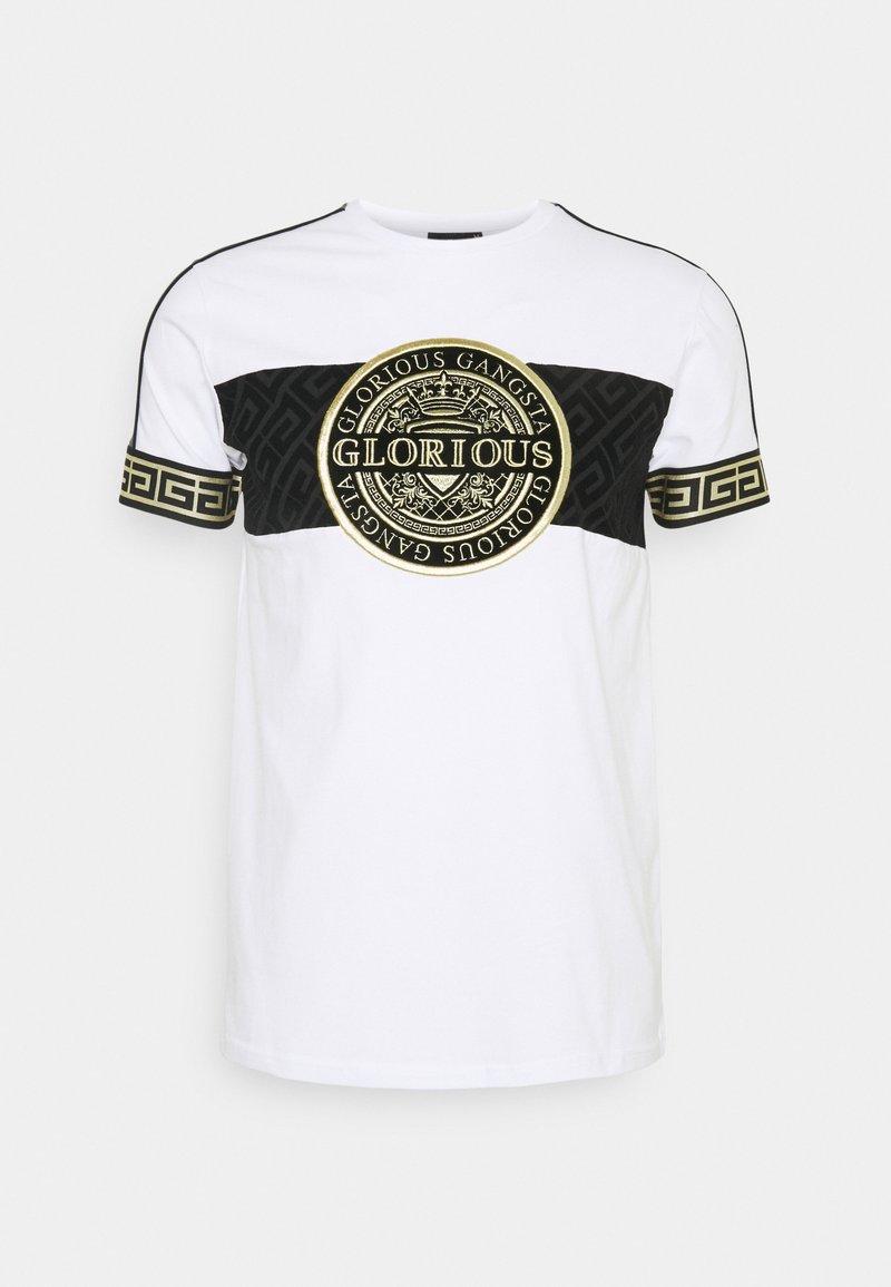 Glorious Gangsta - BOTTAGOT - T-shirt con stampa - white