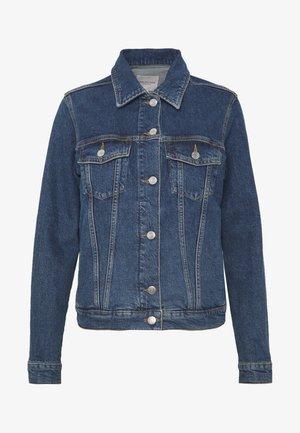 SLFSTORY SPRUCE JACKET - Denim jacket - dark blue denim