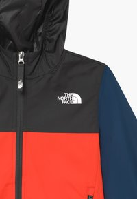 The North Face - YOUTH REACTOR - Veste coupe-vent - fiery red/asphalt grey - 3