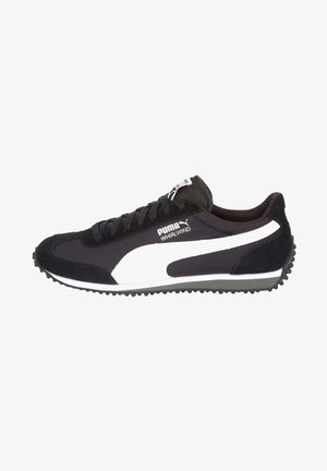 WHIRLWIND - Trainers - black- white-black-silver