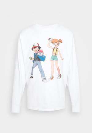 LEVI'S® X POKÉMON LS UNISEX TEE - Long sleeved top - white