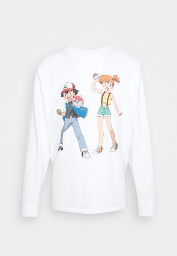 LEVI'S® X POKÉMON LS UNISEX TEE - Long sleeved top - white