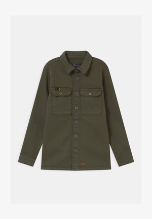BOYS  - Shirt - dunkelgrün reactive