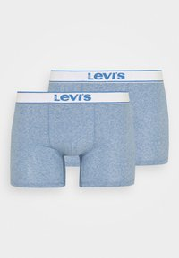 Levi's® - VINTAGE BOXER BRIEF 2 PACK - Boxerky - light blue - 2
