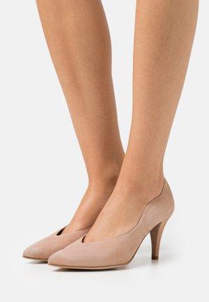 TAFALLA - Classic heels - nude