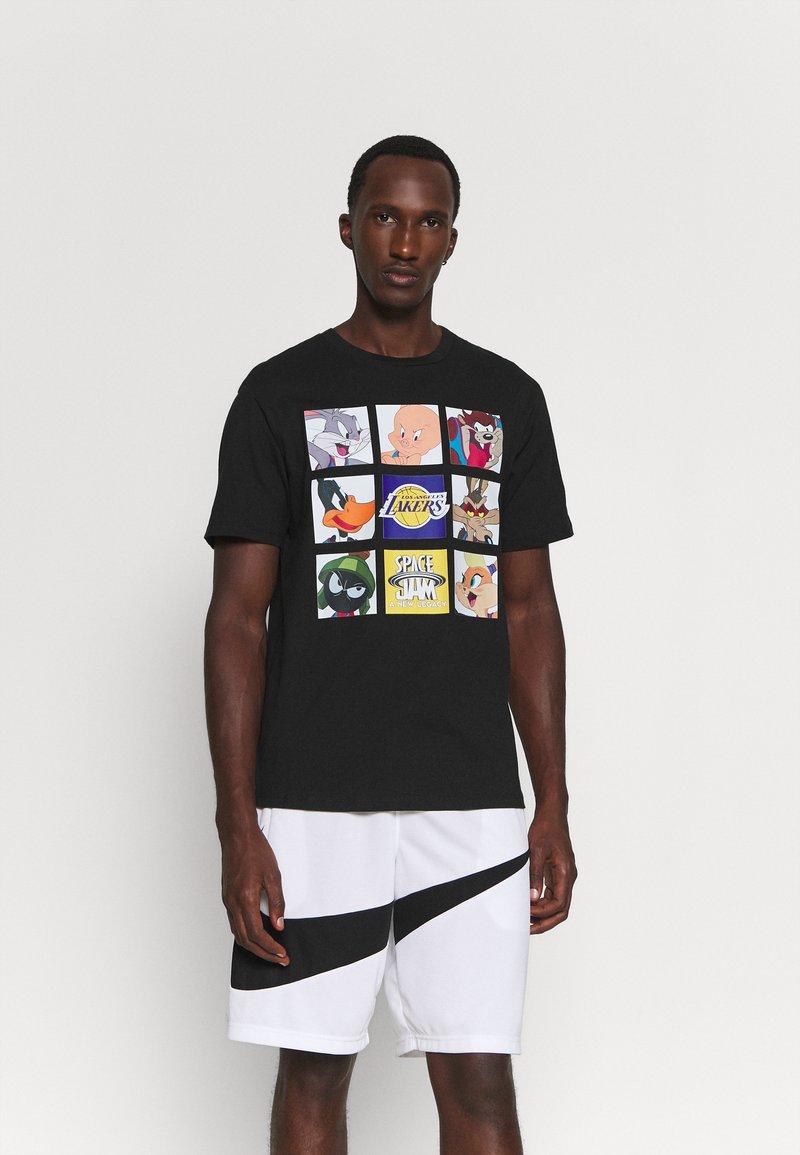 Outerstuff - NBA LOS ANGELES LAKERS SPACE JAM TUNE ZOOM TEE - Print T-shirt - black
