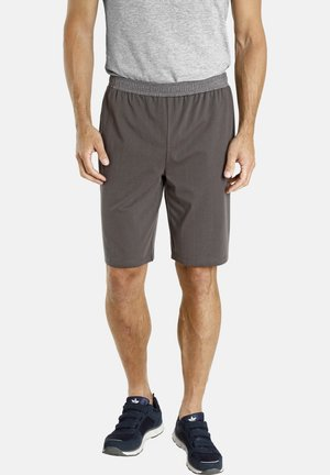 2 PACk - Shorts - blau grau