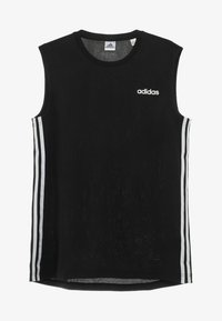 adidas Performance - 3STRIPES AEROREADY SLEEVELESS T-SHIRT - Funktionströja - black - 4