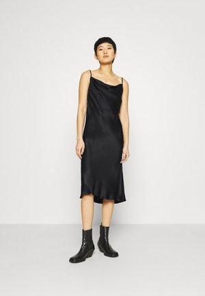 EDDY COWLNECK SLIPDRESS - Cocktail dress / Party dress - black