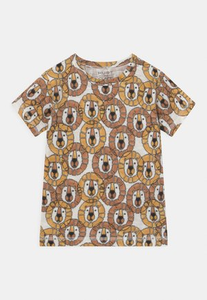 ANKER  - Print T-shirt - light brown