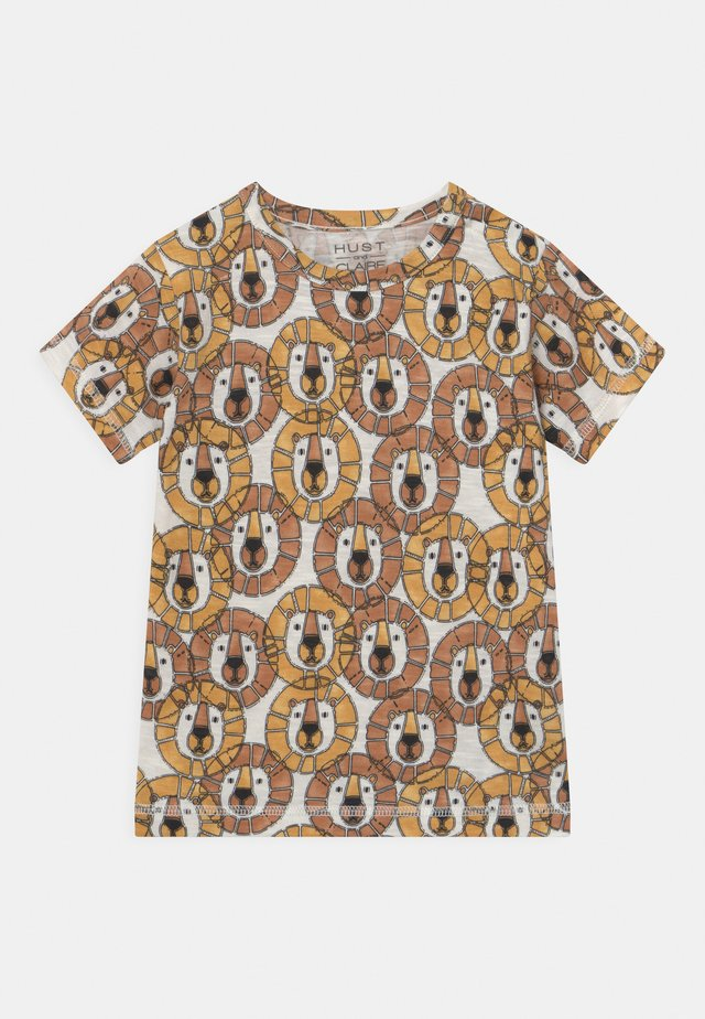 ANKER  - T-shirt con stampa - light brown