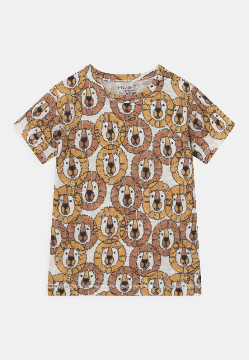 Hust & Claire - ANKER  - Print T-shirt - light brown