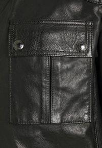 Belstaff - Leather jacket - black - 4
